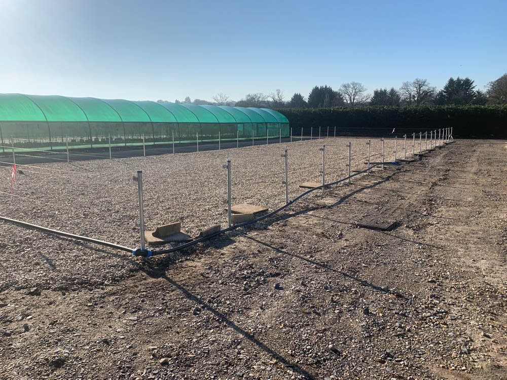 Irrigation system installed by MJS Landshaping